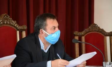 """Tomando todas las medidas epidemiológicas comenzamos a sesionar"""
