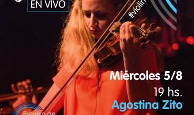 Charlas en vivo con Agostina Zito
