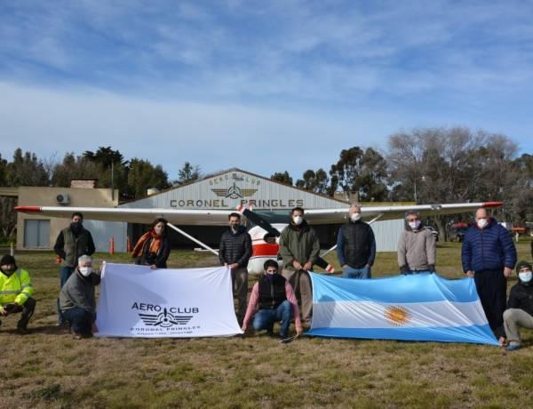 """Gracias a la colaboración de muchísimas personas, """"Banderas al cielo"""" fue posible"""